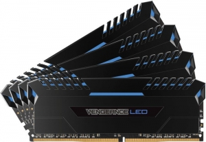 Corsair Vengeance LED DIMM Kit 64GB CMU64GX4M4C3200C16B