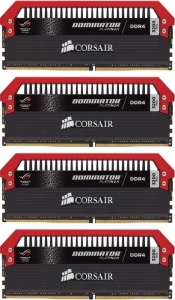 Corsair Dominator Platinum DIMM - ROG Edition Kit 32GB CMD32GX4M4C3200C16-ROG