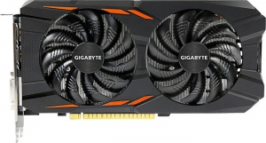 Gigabyte GeForce GTX 1050 Windforce OC 2G GV-N1050WF2OC-2GD