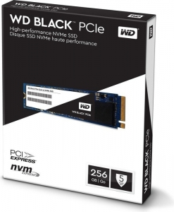 Western Digital WD Black PCIe SSD 256GB WDS256G1X0C