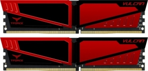 TeamGroup T-Force Vulcan Red DIMM Kit 32GB TLRED432G2400HC15BDC01
