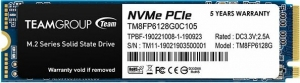 TeamGroup PCIe SSD MP33 128GB TM8FP6128G0C101