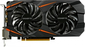 Gigabyte GeForce GTX 1060 3GB WindForce OC 3G GV-N1060WF2OC-3GD