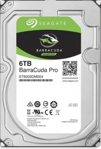 Seagate BarraCuda Pro +Rescue 6TB ST6000DM004