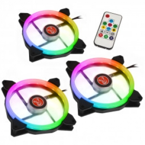 Raijintek Iris 14 Rainbow RGB 3 Pack 140mm 0R400050