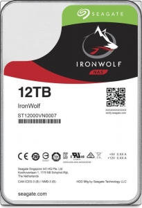 Seagate IronWolf NAS HDD 12TB ST12000VN0008