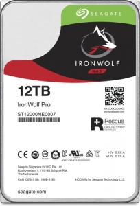 Seagate IronWolf Pro NAS HDD +Rescue 12TB ST12000NE0007