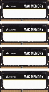 Corsair Mac Memory SO-DIMM Kit 32GB CMSA32GX4M4A2666C18
