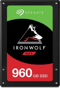 Seagate IronWolf 110 NAS SSD +Rescue 960GB ZA960NM10011