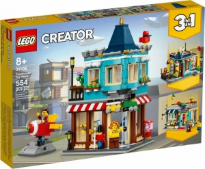 LEGO Creator 3in1 toy store in a town house 31105