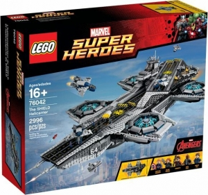 LEGO Marvel Super Heroes Play Set The SHIELD Helicarrier 76042