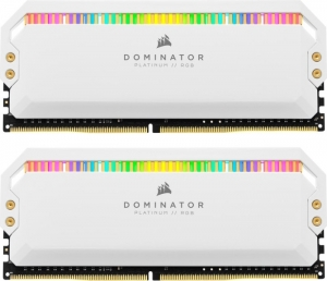 Corsair Dominator Platinum RGB White DIMM Kit 32GB CMT32GX4M2K4000C19W