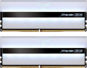 TeamGroup T-Force Xtreem ARGB White DIMM Kit 32GB TF13D432G3200HC16CDC01